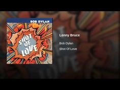 Not Dark Yet: Monday Music: Lenny Bruce (by Bob Dylan)