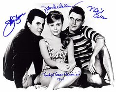 Most everyone was a fan of the 1959 movie Gidget - in 1961, the first sequel was released, Gidget Goes Hawaiian. The stars of Gidget Goes Hawaiian were (L-R) the original Moondoggie, James Daren, Deborah Walley as Gidget, and Michael Callan as Eddie Horner . Deborah Walley passed in 2001; James Darren is still singing today, and Michael Callan is alive and kicking at age 78.