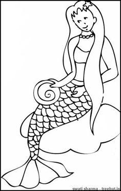 mermaid coloring pages treehutin mermaid coloring pages mermaids clip art