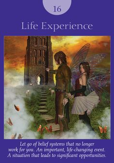Oracle Card Life Experience | Doreen Virtue | official Angel Therapy Web site