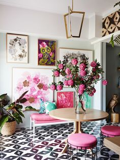 Inspiration File: Pretty Floral French Style | Remodelaholic | Bloglovin'