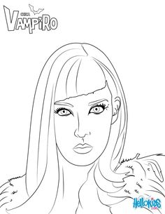 Catalina from Chica Vampiro is Julieta and Mirko's mother. More Chica Vampiro coloring pages on hellokids.com