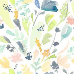 Pastel-Flowers-Removable-Wallpaper.jpg (500×500)
