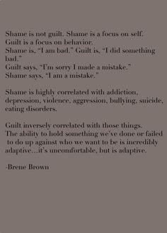 Understanding Emotions: What is the difference between Guilt and Shame?