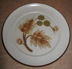 Denby Pottery Cotswold Design Side/Tea Plate Hearts Designs 1