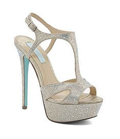 Blue by Betsey Johnson Crush Dress Sandals