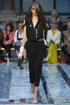 Vivienne Westwood Red Label Spring 2013 Ready-to-Wear Collection I'll have that necklace please.