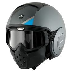 Custom Shark Raw Helmet