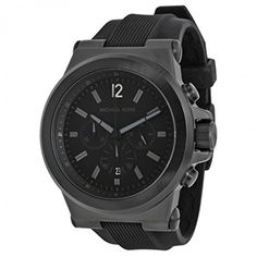 Michael Kors Men's Black Silicone Strap Quartz Chronograph MK8152 https://www.carrywatches.com/product/michael-kors-mens-black-silicone-strap-quartz-chronograph-mk8152/ Michael Kors Men's Black Silicone Strap Quartz Chronograph MK8152  #Chronographwatch More chronograph watches : https://www.carrywatches.com/tag/chronograph-watch/