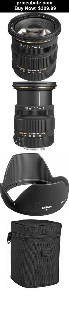 Camera-And-Photo: Sigma 17-50mm f/2.8 EX DC OS HSM Zoom Lens for Canon DSLR Camera - BRAND NEW - BUY IT NOW ONLY $309.99