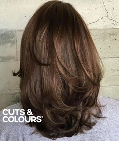 Layers   Halflang haar   CUTS & COLOURS