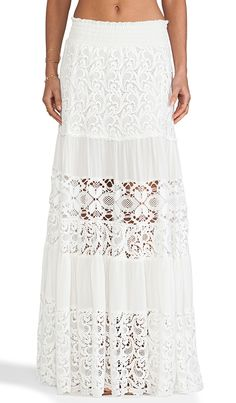 love this lace maxi