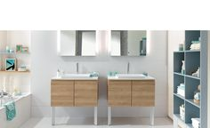 """Discover our elegance bathroom """"Private space"""" and design your custom bathroom with Schmidt : bespoke furniture is no longer a luxury. Custom Made Furniture, Bespoke Furniture, Portland, Family Bathroom, Modern Bathroom, Living Room Storage, Storage Spaces, Lit Mirror, Bathroom Furniture Design"""