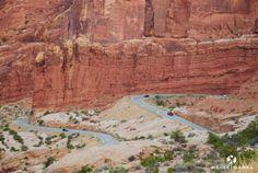 Die Straße durch Arches Nationalpark. Auf jeden Fall eine Reise Wert.