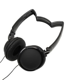 bpr BEAMS(ビーピーアール)のmix-style / ネコミミヘッドフォン(オーディオ家電)|ブラック