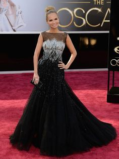 Only dress I liked at the Oscars and it was a host on the carpet!  85th Academy Awards Best Dressed — See Gorgeous Oscars Gowns - Hollywood Life