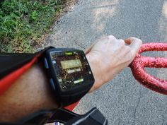 Even devils need a Timex One GPS! Keeping splits on my Ironman Wisconsin 2015 athletes, and counting my miles.