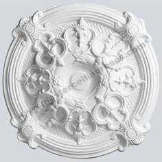 440mm Plaster Ceiling Rose Gothic Style MPR002   eBay £28