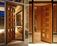 Contemporary front doors  Hometone
