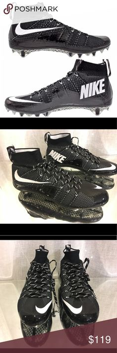 Nike Vapor Untouchable TD  Football Cleats Size 13 Nike Vapor Untouchable TD  Football Cleats NEW Mens Sz 13 Black 698833-010 NWOB Nike Shoes Athletic Shoes
