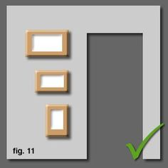 How To Hang And Align Pictures and Diplomas Correctly On A Wall. This one is my favorite framing design site.