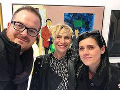 Un piacere conoscere Federica Palmarin e il progetto Venicefaktory che hanno accolto la personale dellamico @stranomarco  www.venicefaktory.com  #architectaroundtheworld #venicefaktory #art #contemporaryart #marcostrano #biennalearte2019 #biennaledivenezia #pitturacontemporanea #artist #instart #happyfamily Studio, Studios