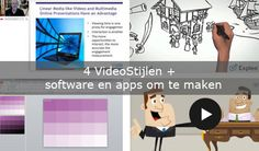 Video's maken waarvoor je niet voor de camera hoeft: http://www.sparklingprofessionals.com/een-video-maken-van-fotos-en-andere-videostijlen/