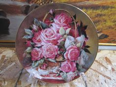Grace De Monaco Rose Limited Edition Collector's Plate by Artist Katherine Austen * The Franklin Mint by RainbowConnection15 on Etsy