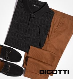#Black & #brown - a #colour #combination that will raise your #look to a new level of #sophistication. www.bigotti.eu #mensfashion #menswear #mensclothing #mensstyle #ootdmen #lookoftheday #styleinspo #outfitinspiration #neutrals #summerstyle #menswardrobe #mondaymood Mens Attire, Men's Wardrobe, Stylish Men, Summer Vibes, Men's Fashion, Menswear, Spring Summer, Colour, Brown