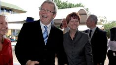 Rudd and Gillard - worst Prime Ministers ever!
