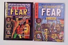 HAUNT OF FEAR  EC Archives HC Vols 1 & 2 Gemstone Dark Horse PRE CODE HORRORS