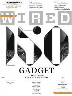 Wired — Magazine Cover on Typography Served Gfx Design, Page Design, Book Design, Print Design, Newsletter Layout, Newsletter Design, Design Editorial, Editorial Layout, Poker Texas