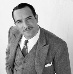 """Jean Dujardin as George Valentin in """"The Artist"""" Best Actor 2011 Jean Dujardin, The Artist Movie, Hollywood Boulevard, Gq Men, Bald Men, People Of Interest, Portraits, Hair And Beard Styles, The Godfather"""