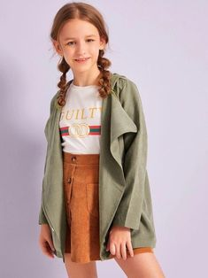 Cute Little Girls Outfits, Teen Girl Outfits, Teen Fashion Outfits, Outfits For Teens, Cute Outfits, Teenage Outfits, Trendy Outfits, Preteen Fashion, Girl Fashion