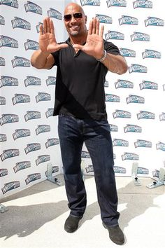 "Dwayne ""The Rock"" Johnson and it's all about the u"