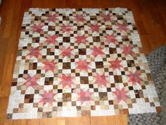 Bonus Triangle Quilt from Bonnie Hunter's Grand Illusion Mystery.