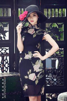 时尚旗袍靓装