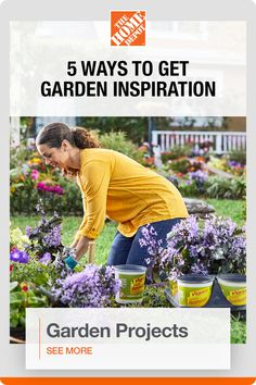 Explore ways to branch out and update your garden with The Home Depot. Make the most out of spring and refresh your outdoor space with inspiration from this guide. Whether you install a few steppingstones to create a walkway through your garden or plant flowers to attract pollinators like butterflies, bees and hummingbirds, try something new this year with help from The Home Depot. Click to see more.