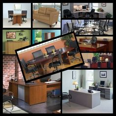 Furniture layout, Small office and Office furniture on Pinterest
