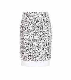 Speckled tweed skirt | Carolina Herrera