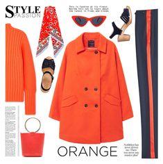 """Dreamsicle: Pops Of Orange"" by ewa-naukowicz ❤ liked on Polyvore featuring rag & bone, MANGO, Victoria, Victoria Beckham, WithChic, Tory Burch, orangeoutfit and popsoforange"