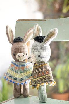 Amigurumi Triangle Ears : Mas de 1000 imagenes sobre Amigurumi ideas en Pinterest ...