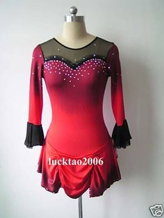 Gorgeous Figure Skating Dress Ice Skating Dress
