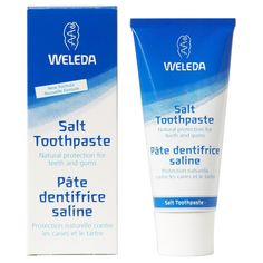 Weleda tandpasta - Salt - 75 ml Best Natural Toothpaste, Organic Supermarket, Face Care, Skin Care, Organic Food Delivery, Organic Wine, Natural Healing, Take Care Of Yourself, Organic Recipes