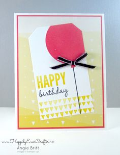 Happily Ever Crafter: Celebrate Today! Stampin' Up! Demonstrator, Angie Britt