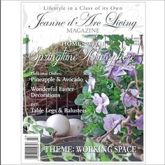 Jeanne d'Arc Living Magazine March 2013