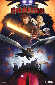 Dark Horse y DreamWorks Animation se unen para hacer cómics de 'Cómo entrenar a tu dragón' ~ La Espada en la Tinta: Literatura fantástica, cómics, actualidad, noticias, avances y más
