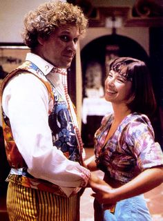 The 6th Doctor and Peri - The Two Doctors