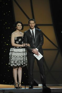 Ginnifer Goodwin and Josh Dallas. Really love how easy it is to like these two