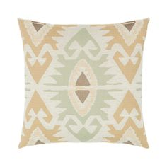 Perfect indoor or outdoor pillow for a boho or southwest look